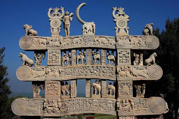 Buddhist Architecture Sanchi Torana
