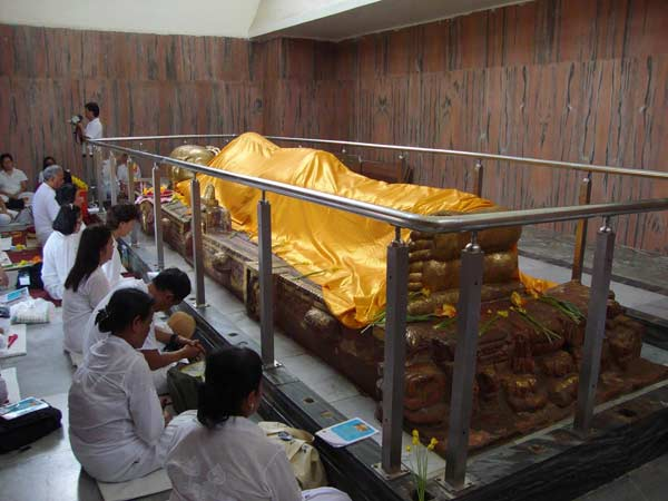 kushinagar where Gautama Buddha have attained parinirvana after his death